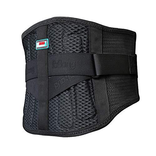 Rückenbandage,Niedriger Zurück Unterstützung Gürtel Zum Männer & Frau Schmerzen Linderung,Sommer-Atmungsaktiv (größe : XL)