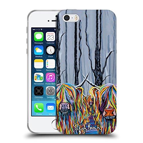 Ufficiale Steven Brown William Rabbie Wallace Mccoo Mucca Delle Montagne 2 Cover Morbida In Gel Per Apple iPhone X Jean & Bob & The Bairn