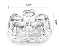 EZ Life Tea Pot Warmer Base- Glass -1pc
