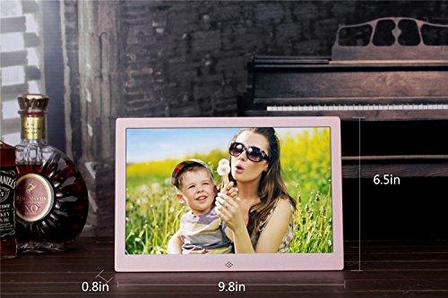 Preisvergleich Produktbild DD Digital-Fotorahmen-elektronisches Album dünnes Rand HD 10-Zoll-Metallwerbemaschiene
