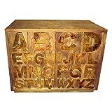 Kommode Sideboard Anrichte Breve Massivholz hell Breite 120 cm Tiefe 40 cm Höhe 85 cm