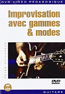 PLAY MUSIC FRANCIA - Guitare-méthodes - Nathanson Peter - Improv Avec Gamme Et M