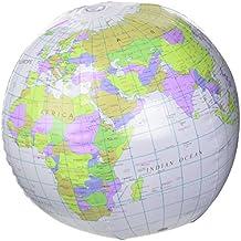 Inflable del globo del mundo [Toy]