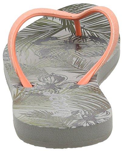 Reef Stargazer Prints, Flip-flop femme Vert (Olive Tropical)