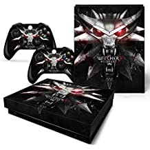 Gadgets WRAP Xbox ONE X Console Controller Witcher Wild Hunt III Theme Printed Skin