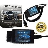 Diagnosegerät FORScan USB Diagnose Interface für Ford und Mazda Focus Smax Mondeo Kuga CMax Mondeo