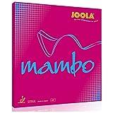 Joola RUBBER MAMBO RED 2,0 MM - -0, Größe:2