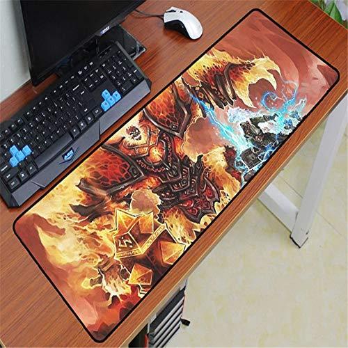Preisvergleich Produktbild Mauspad Gummi waschbar Computerspiel Computer Tastatur Mauspad 2 700x300x2