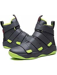 Hommes Velcro Basketball Baskets 2017 L'automne Hiver Haut Haut Formateurs Mode Respirant Athlétique Fonctionnement Chaussures