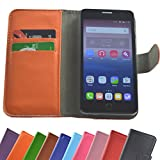 ARCHOS Access 50 Color 3G Smartphone/Slide Kleber Hülle Case Cover Schutz Cover Etui Handyhülle Schutzhülle in Orange