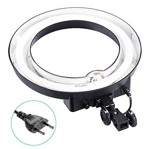 """Neewer Kamera Foto Video 14 \""""Aussen 10\"""" Inner 400W 5500K Dimmbare Fotografische Lampe Ring Leuchtstoff Blitzlicht für Kamera Foto Video (Licht nur)"""