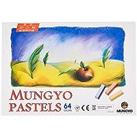 Juego de 64 tizas de colores variados de Mungyo, colores pastel, no tóxicos (B441R078-7003A)