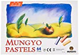 Mungyo Non Toxic Square Chalk, Soft Pastel, 64Pack, Assorted Colors (b441r078–7003a)