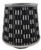 Aperto universale filtro aria sportivo filtro aria Tuning Stream Air con 4adattatori