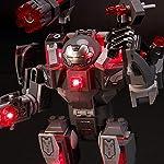 BRIKSMAX-Kit-di-Illuminazione-a-LED-per-Lego-Marvel-Avengers-War-Machine-Compatibile-con-Il-Modello-Lego-76124-Mattoncini-da-Costruzioni-Non-Include-Il-Set-Lego