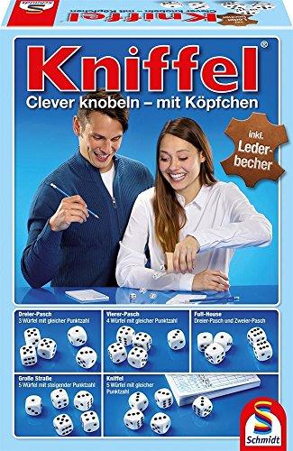 Preisvergleich Produktbild Schmidt Spiele 49030 - Kniffel mit Würfelbecher