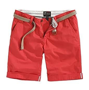 Surplus - Short - Homme -  Rouge - S