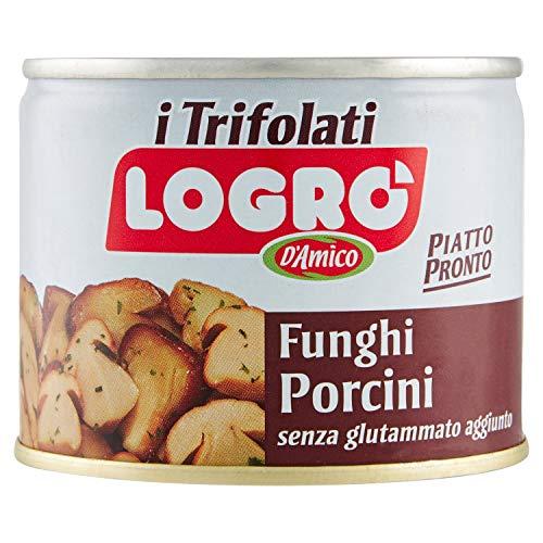 Logró Funghi Porcini Trifolati, Piatto Pronto - 180 g