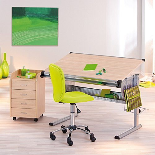 Links 50600450 Schreibtisch, Kinderschreibtisch Schülerschreibtisch höhen- und neigungsverstellbar, ahorn - 8
