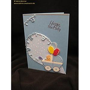 3D Grußkarte zur Geburt Junge, Art. 2769