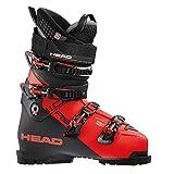HEAD Unisexe - Chaussures de Ski Adulte Vector RS 110 Rouge/Noir, 608054-29.0, Rouge/Noir, 29