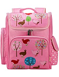 Moonwind Kids Girls Backpack For School Book Bags Princess Cute Schoolbag Floral (gl865