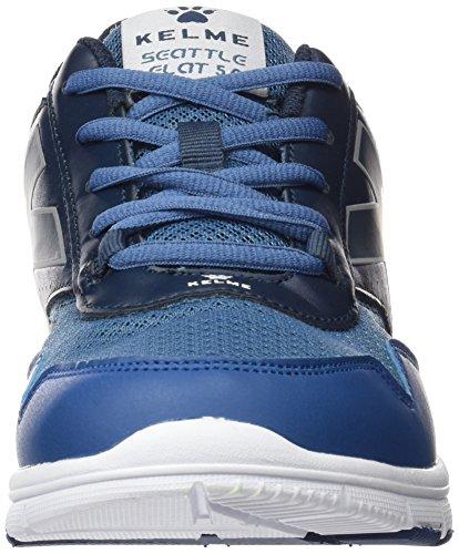 Kelme Herren Seattle Flat 5.0 Sneakers Blau (marino / Blu)