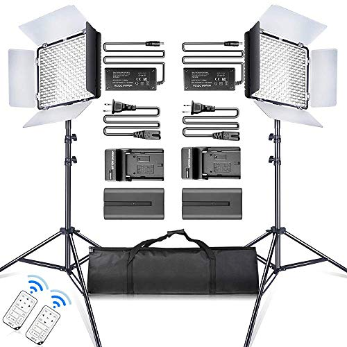 SAMTIAN Lumiere LED Video 600 Ca...