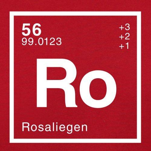 Rosalie Periodensystem - Herren T-Shirt - 13 Farben Rot
