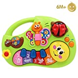 Limtoys Early Education 6 Months Olds Baby Toy Learning Machine Toy with Lights