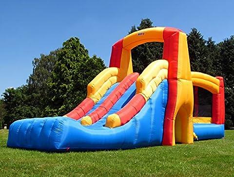 BeBop Kamikaze Bouncy Castle and Double