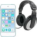 DURAGADGET Auriculares De Diadema Para Apple iPod Touch ( 6 / 5 / 4 / 3 / 2 / 1 Generación ) - Negro Y Blanco - Alta Calidad