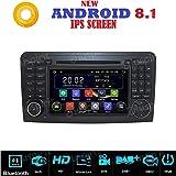 ANDROID 7.1 GPS DVD USB SD WI-FI Bluetooth autoradio 2 DIN navigatore Mercedes classe ML W164 / ML300 / ML350 / ML450 / ML500 / Mercedes classe GL X164 / GL320