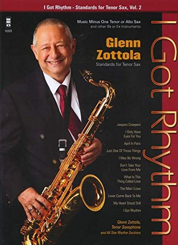 I Got Rhythm - Standards for Tenor Sax, Vol. 2 Saxophone +CD por Divers Auteurs