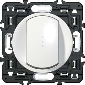 legrand celiane leg99724 schalter oder wechselschalter mit kontrollleuchte ohne neutralleiter. Black Bedroom Furniture Sets. Home Design Ideas