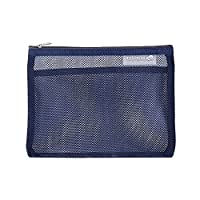 FuXing Mesh Storage Organiser Bag for Bath Cosmetics Toiletry Pouch