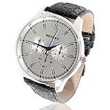 Accessoryo WTH-082a - Reloj para hombres color negro