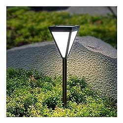 DLK Wandlampe Kronleuchter Retro-Stehlampe Touch-Bedsi Sun Light LED-Rasen-Licht Modern Fashion Garten Beleuchtung Insert Landschaftslampe Schwarz Geeignet for Garten Park Gras Beleuchtungs