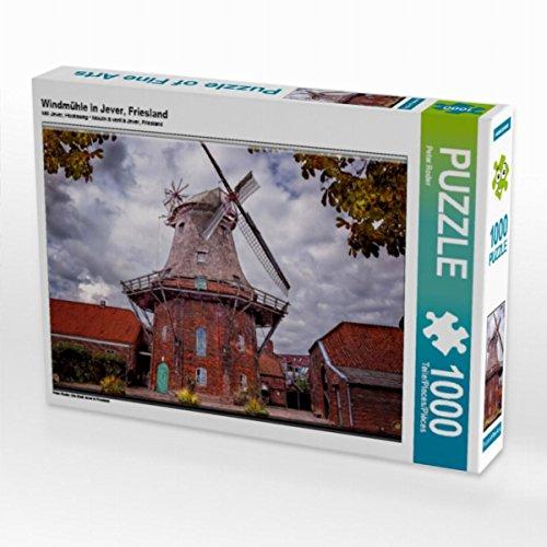 Preisvergleich Produktbild Windmühle in Jever, Friesland 1000 Teile Puzzle quer: Die Stadt Jever in Friesland (CALVENDO Technologie)