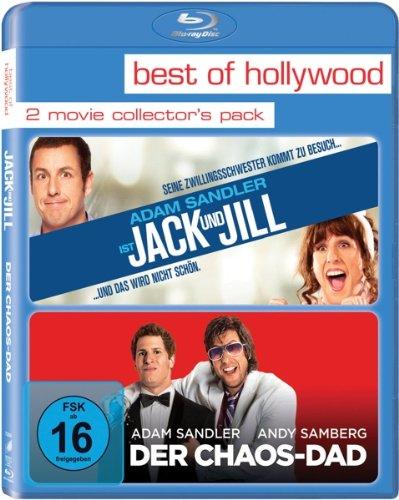 Jack und Jill/Der Chaos-Dad [Blu-ray]