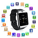 HAMSWAN lg118 Bluetooth SmartWatch mit Kamera in 1 Smart Watch für iPhone, Android Samsung Galaxy Note, Nexus, HTC, Sony