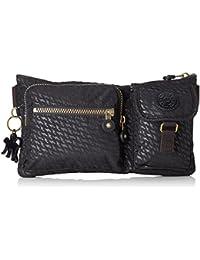 Kipling Nylon 2 ltrs Plover Black Messenger Bag (K14278L0100F)