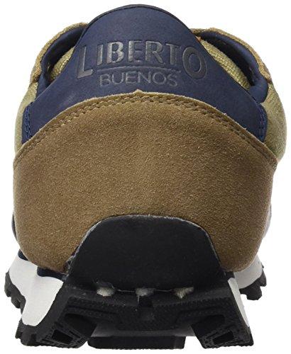 LIBERTO Lib67cl, Sneakers Basses Homme Marron