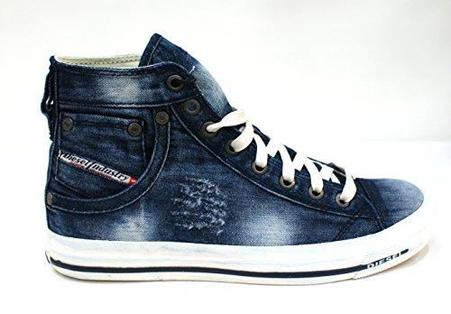 Dobradiças Diesel Y00023 Sneaker P1275 Indigo gTaw4Tqx