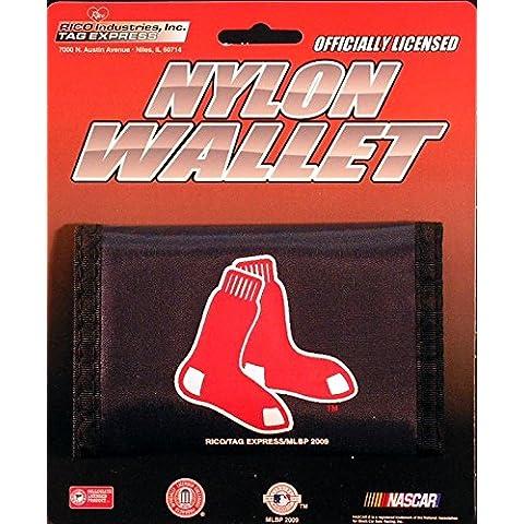 Boston Red Sox in Nylon, Portafoglio Trifold