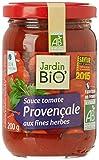 Jardin Bio Sauce Tomate Provençale 200 g - Lot de 4