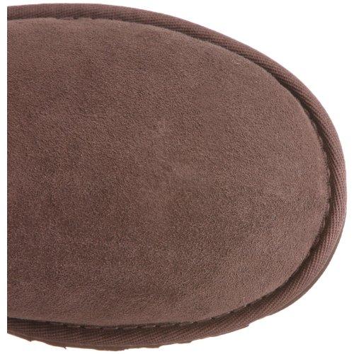 UGG K's Bailey Button 5991, Stivali, Unisex bambino Marrone (choco)