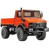 Dickie - Tamiya 300058609 - 1:10 RC Mercedes Benz Unimog 425 Vehículos (CC-01)