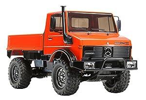 Tamiya Dickie 300058609 - 1:10 RC Mercedes Benz Unimog 425 Vehículos (CC-01)
