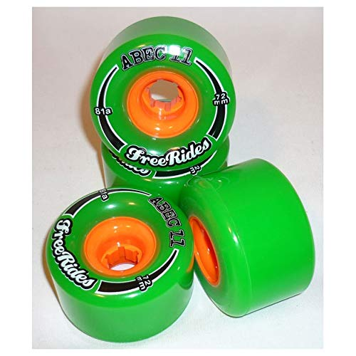 ABEC 11 Classic FreeRide 78A 72mm Et Wheel Offset